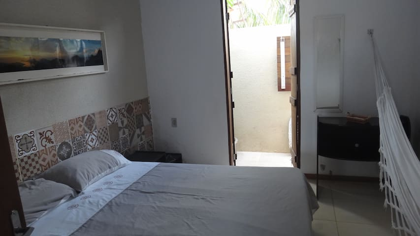 Chalet with AC and wi-fi 300 m from the sea - Tibau do sul - Casa
