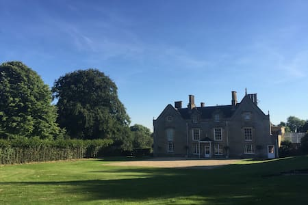 Weston Hall - rural retreat near Silverstone - Weston - Rumah