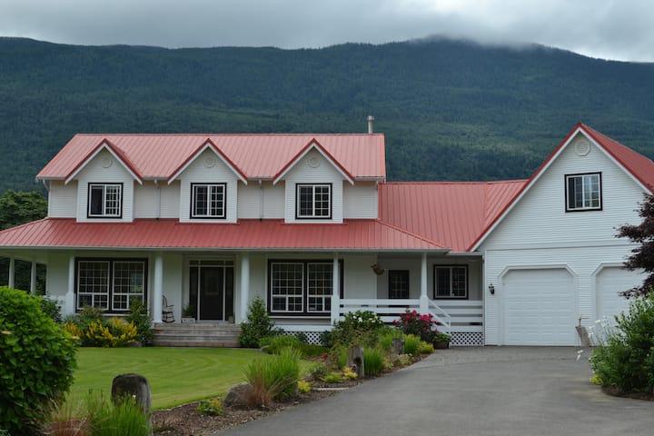 The Big House on Blue Acre Farm
