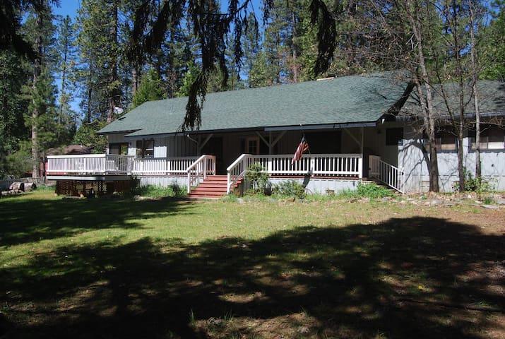 Visit Yosemite Waterfalls, Book Kewin Mill Lodge - Sonora - Huis