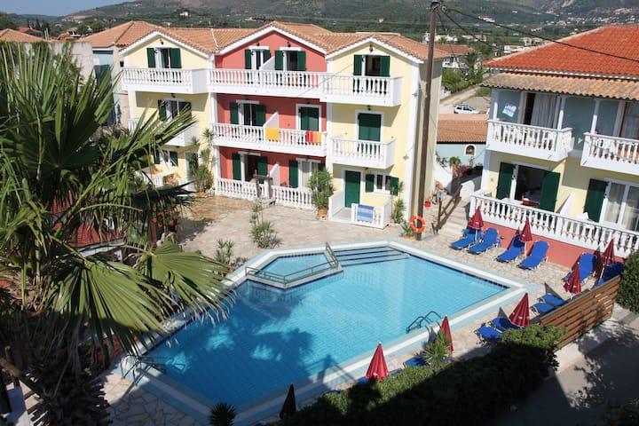 Manthos Beachfront Studio with Pool - 12