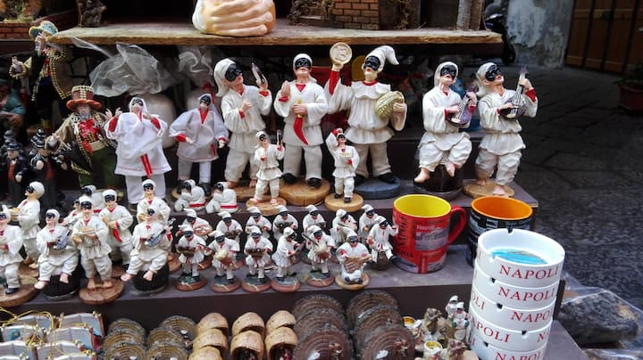 Pulcinella, the mask of Naples