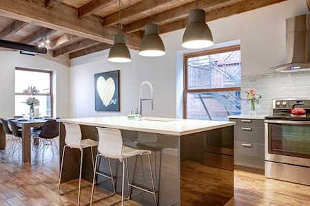 Brand New - Winter Wonder Loft in Old Montreal - Montreal