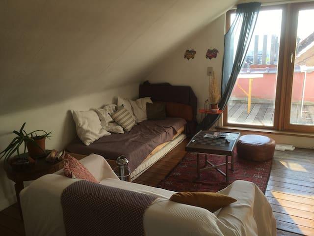 Charmant appartement avec terrasse à Saint-Gilles