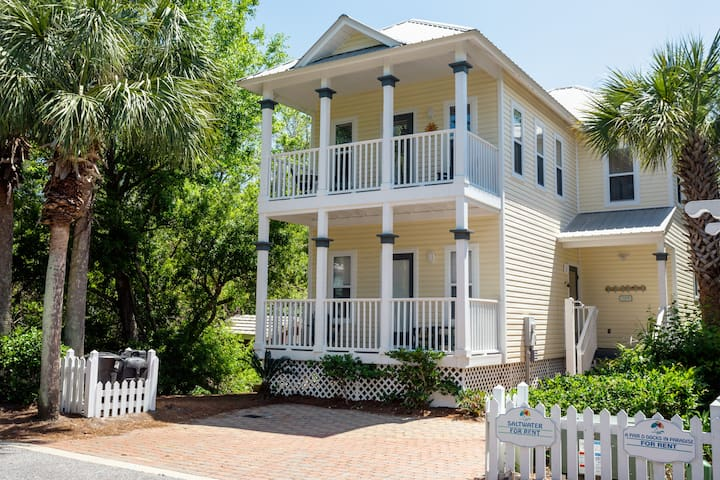 Beach Cottage South of 30a -Steps to Beach & More!