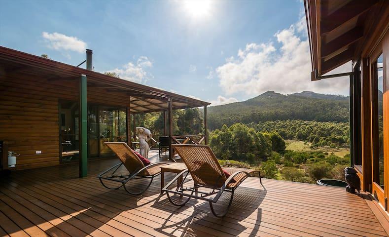 Expansive verandah