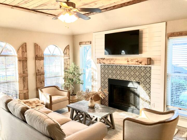 Clover Cottage-Mediterranean style in the ❤️ of DFW