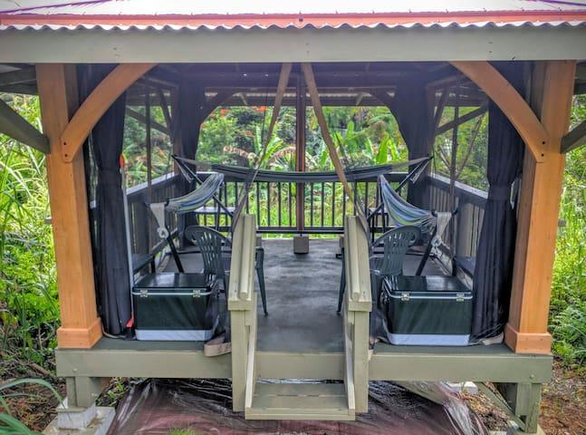 Family Outdoor Hammock Camping Cabana