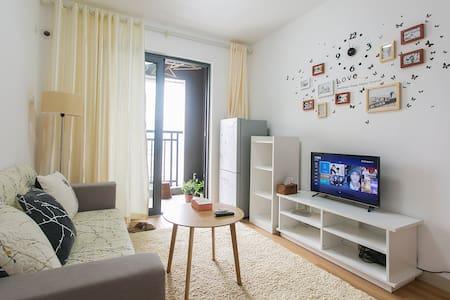39 floor Shenzhen scenery 享家公寓 高新科技园地铁站口舒适景观两房 - Shenzhen - Appartement