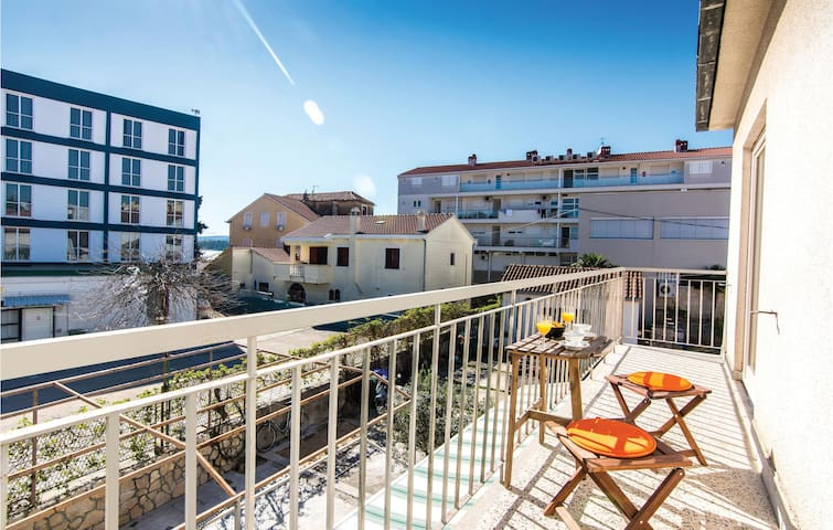 Holiday apartment with 1 bedroom on 31m² in Biograd
