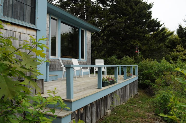 Secluded Small Point With Private Beach Access - Phippsburg - Haus