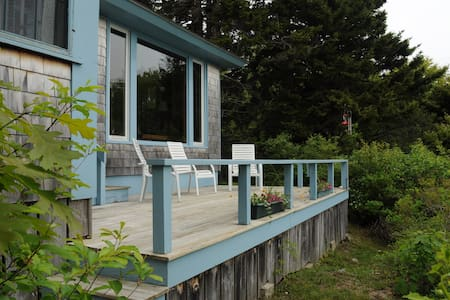 Secluded Small Point With Private Beach Access - Phippsburg