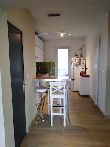 Chambre dans appartement confortable centre ville
