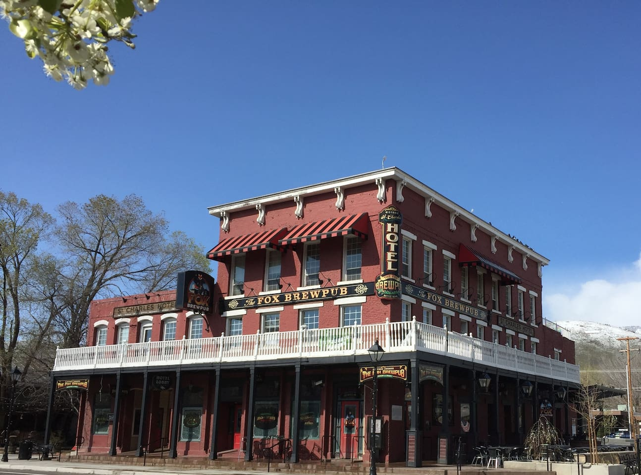 Historic St. Charles Hotel in Carson City NV