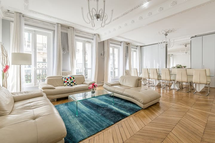 Spacious Apartment Champs-Élysées - Franklin - Paris - Apartment