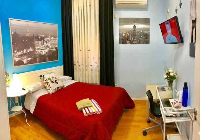 Madrid centro habitación sencilla o doble
