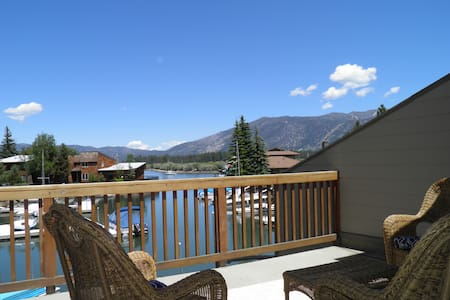 Watefront Condo with Boat Dock steps to Lake Tahoe - South Lake Tahoe - House