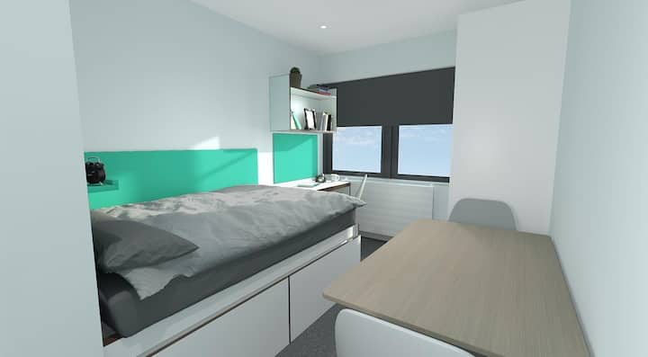 Student Only Property: Convenient ESSENTIAL STUDIO - LOS 12 months 10% off