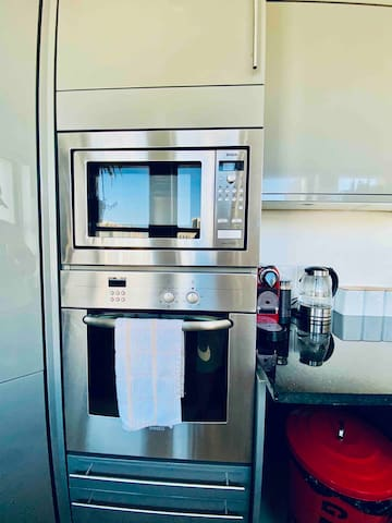 Microwave and oven!