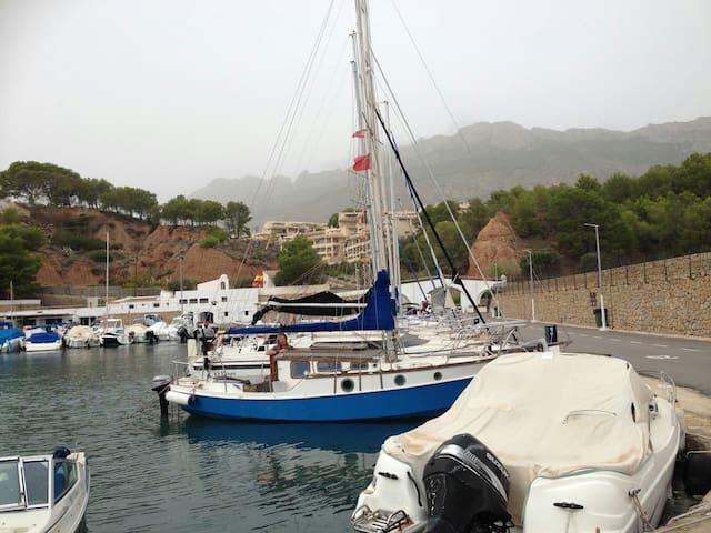 Barco Piratas auténtico  de madera - Altea la Vella - Barca