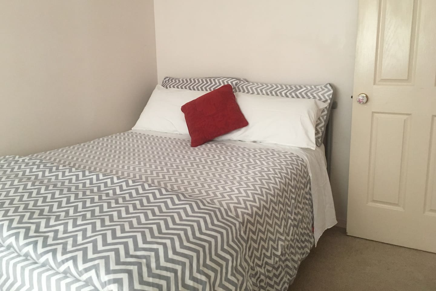 New cosy double bed