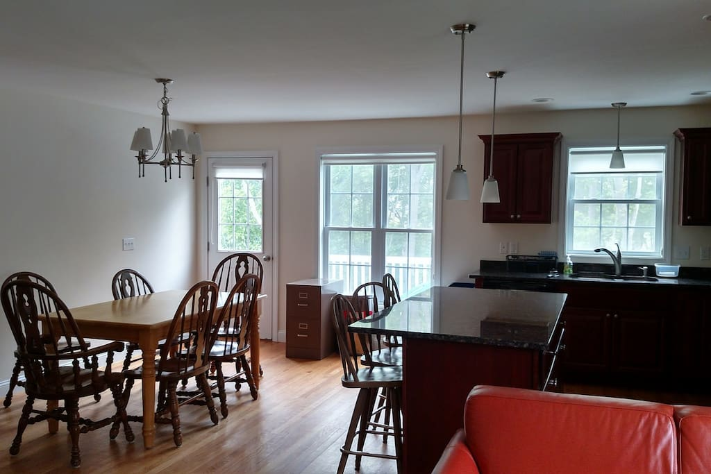 kitchen to outside deck