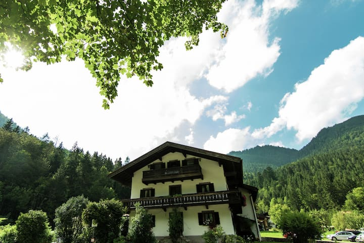 Pleasant apartment in Ruhpolding, Bavaria with swimming pool
