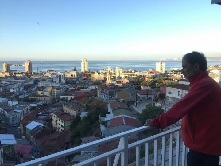 La mejor Vista de Valparaíso.