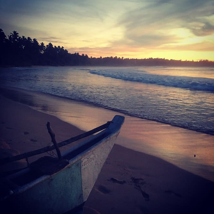 Sunrise from Talalla Beach