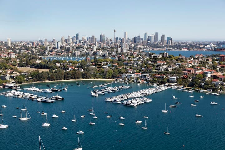 Rose Bay Apartment Minutes to Beach and City - Rose Bay - Appartement