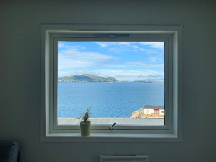 Beautiful sea view apartment in Ålesund city