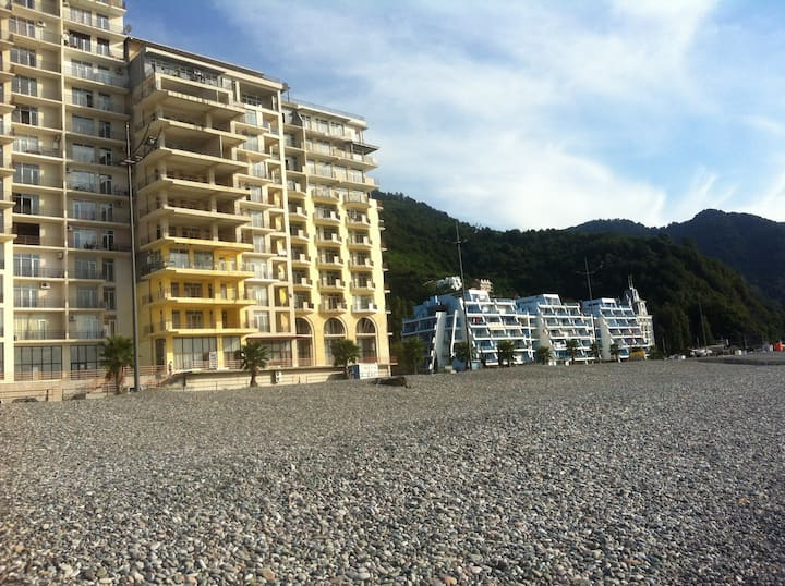 Apartment on the beach in Gonio