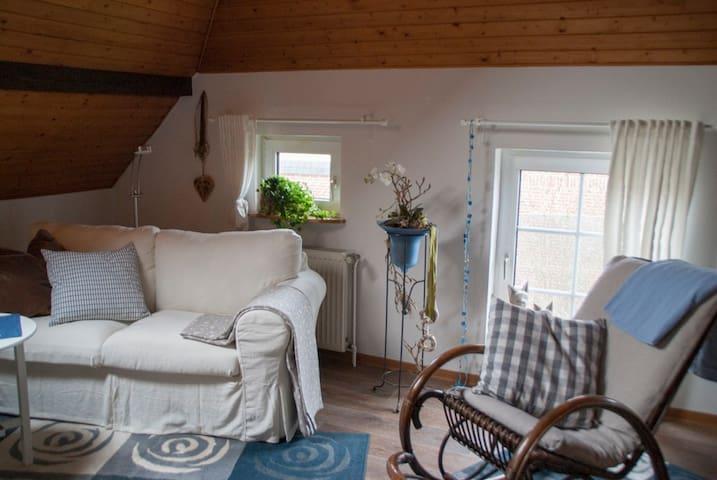 Schöne Ferienwohnung in Wiesmoor - Wiesmoor - Lägenhet
