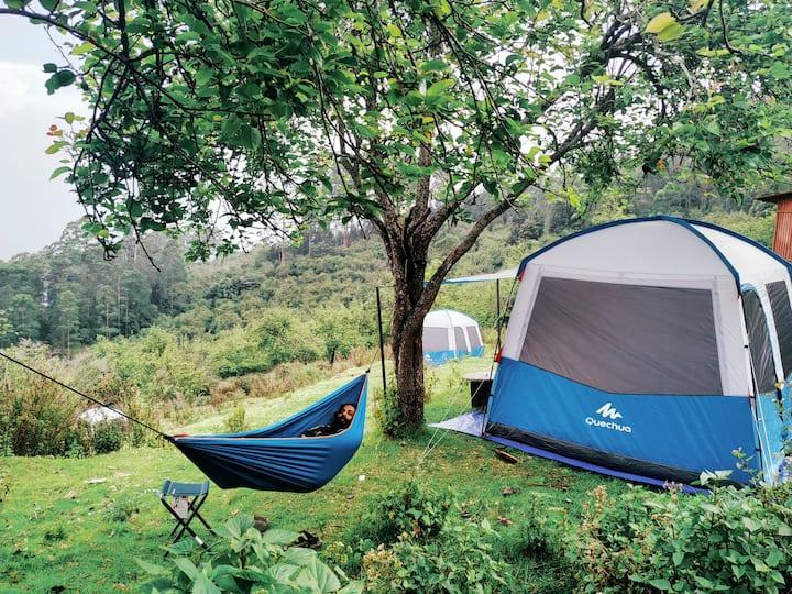 Circles  Camping (tent stay) kodaikanal vattakanal