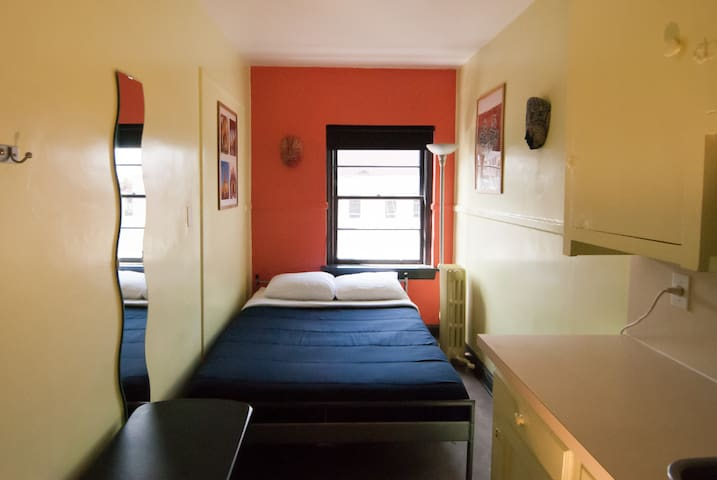 SDS (Extended Stay) · Small Double Room with Sink