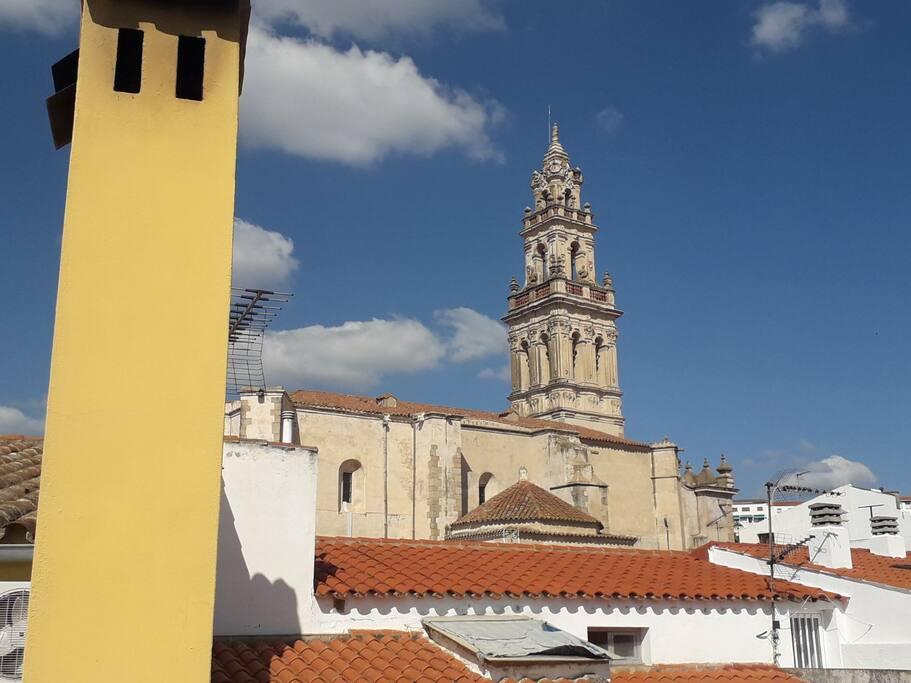 Vista desde la terraza, a 50 mts de la Iglesia de Santa Catalina