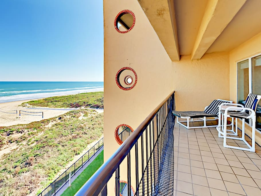 Oceanfront South Padre Island condo, professionally managed by TurnKey Vacation Rentals.