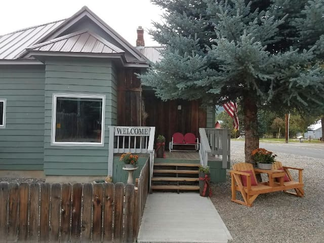 The Cozy Blue Spruce