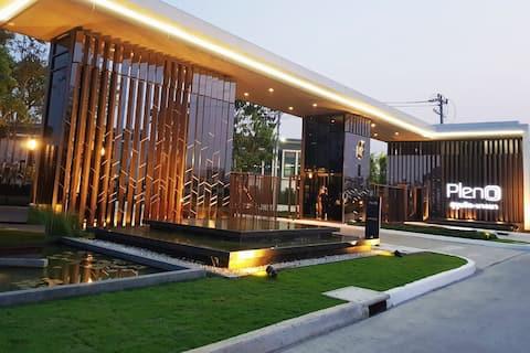 3BR TownHouse nearAirpt+Gateway btw BKK City&Beach