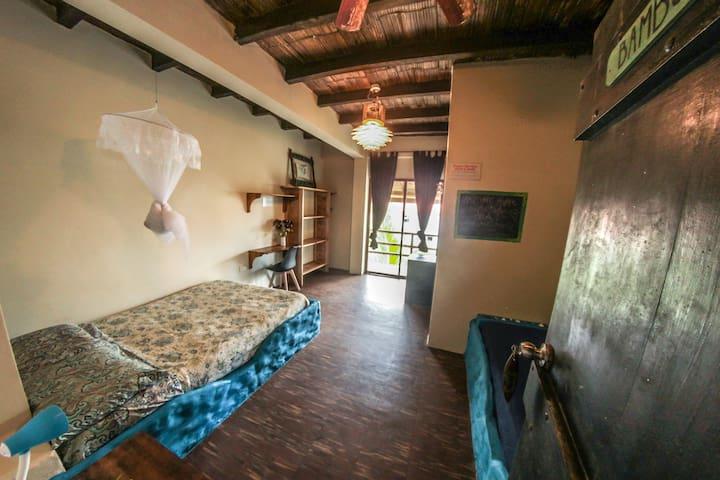 Bambu room - visit lacasalongterm.com for more info