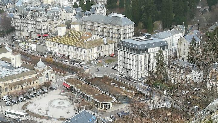 Appartement 2 pièces centre ville, La Bourboule