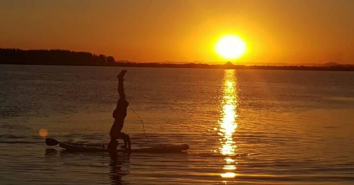 Kitnet na Lagoa Laguna