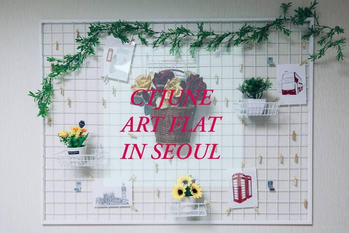 CTJUNE ART FLAT (two room + car parking)