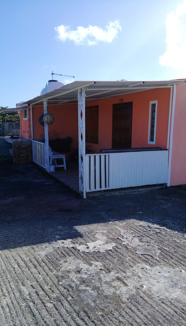 Studio in Souillac, with wonderful sea view, terrace and WiFi