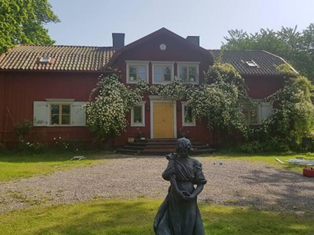 Tolsjöhult Herrgård - charm, naturnära,  paradis