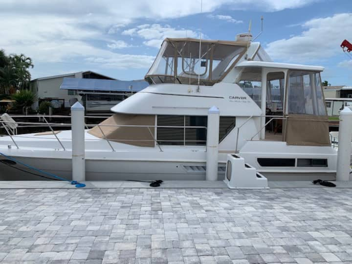 Gypsy's Girl is waiting for you - 40' Sport Yacht