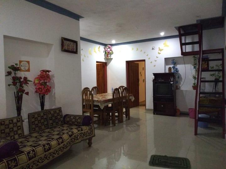Coorg Relax Home 3 BHK House near Madkeri