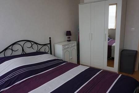 une chambre confortable et agréable--les fougeres - Les Clayes-sous-Bois