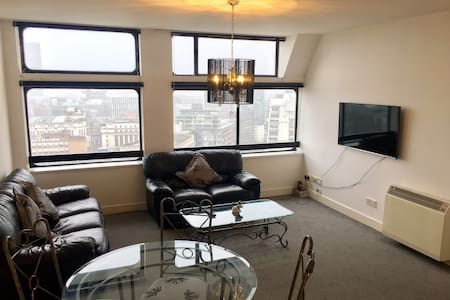 Amazing Views 2 Bed City Centre Apt - Salford