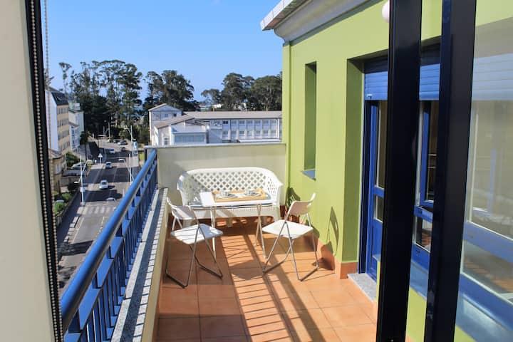 Ático en Viveiro, al lado de la playa de Covas.